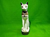 Статуэтка из гипса «Кот Египетский» слоновая кость