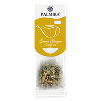 """Чай """"Имбирный"""" T-cup Palmira зелёный с имбирем и добавками 2,4г (10шт)"""