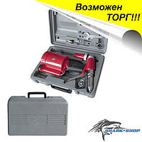 Пистолет заклепочный пневматический в чемодане с аксессуарами PT-1304