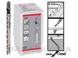 Пилка для лобзика Bosch T 101 D, HCS 100 шт/упак.