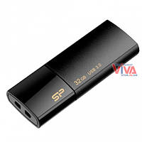 USB флешка Silicon Power Blaze B05 32GB USB3.1 Black, фото 1