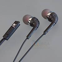 DeepBass D-02  Вакуумные наушники с микрофоном (гарнитура)