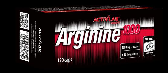 Аргинин Activlab Arginine 1000 120 caps