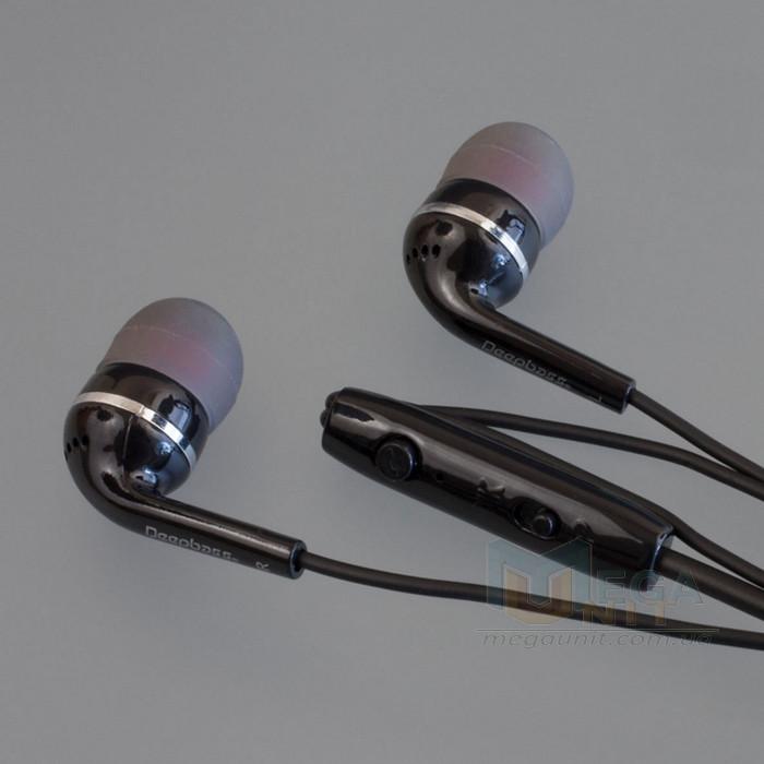 Вакуумные наушники с микрофоном (гарнитура) DeepBass D-08