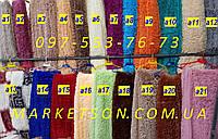 Покрывало плед травка бамбуковое 220х240 пушистое с длинным ворсом Koloco Разные цвета
