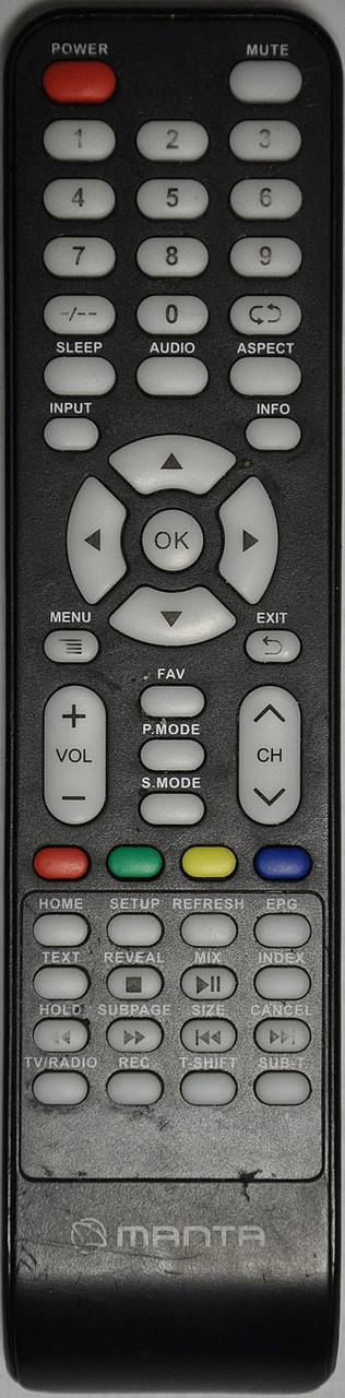 Пульт от телевизора manta LED3204 (Китайская версия)