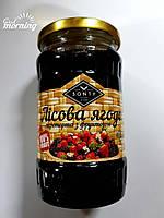 """Лесная ягода перетёртая с фруктозой в стекле ТМ """"SONTY"""" 400 гр"""