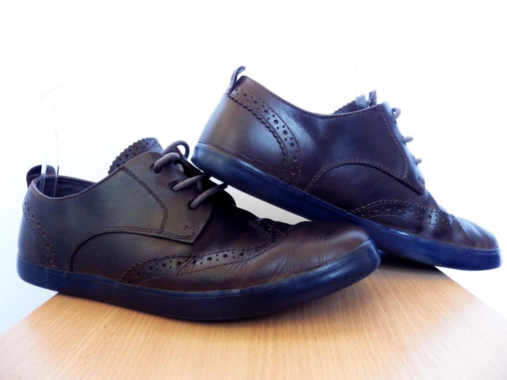 Мужские туфли кожаные Camper р-р 42 (27 см)  (б/у,сток) броги