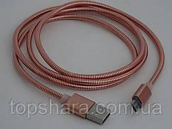 Кабель шнур для зарядки micro USB Metal