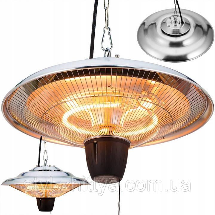 Вуличний інфра-червоний обігрівач - лампа 1,5 кВт