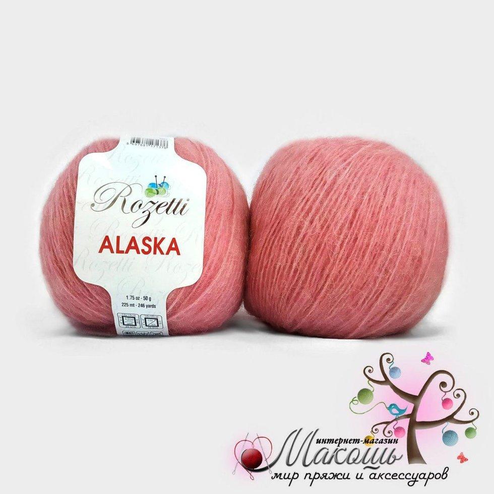 Пряжа Аляска Alaska Rozetti, №231-05, розовый
