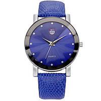 Стильные наручные часы Geneva | 43155 Синие