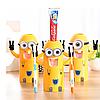 Дозатор для зубной пасты с держателем зубных щеток Миньон