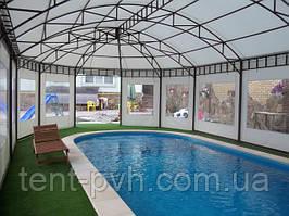 Тентовые павильоны для бассейна