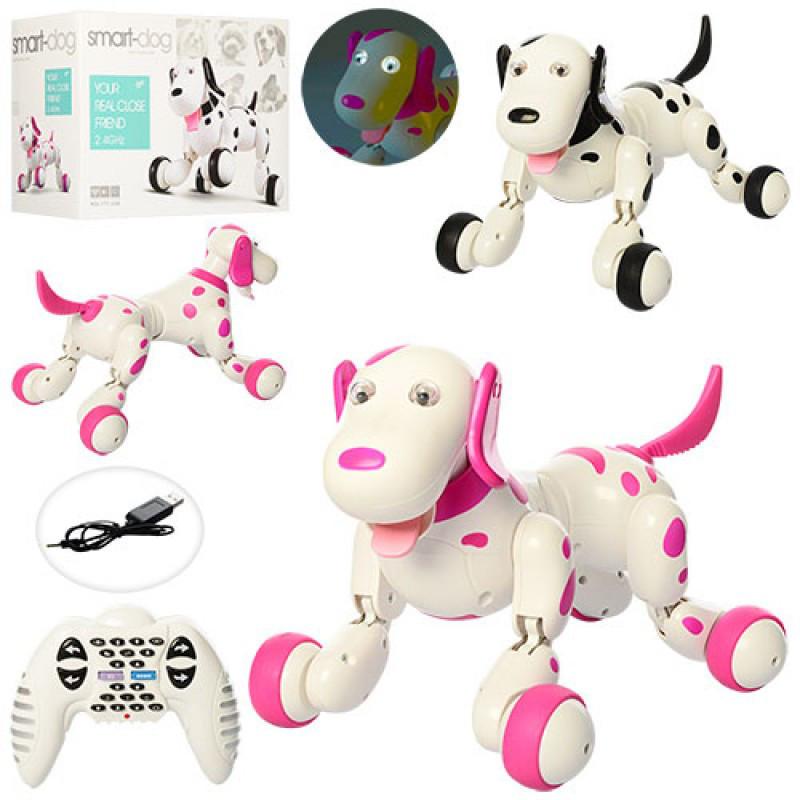 Интерактивная smart Собака-робот на радиоуправлении, Happy Cow Smart Dog, 777-338
