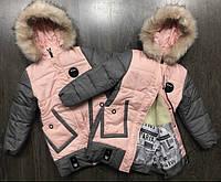 Куртка для девочек подростковая