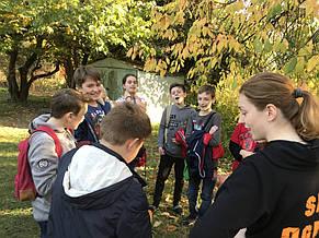 Квест на природе для 5-го класса 15.10.2018