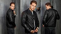 Мужская стеганая куртка №1052 (р.46-52)