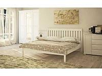 Ліжко двоспальне в спальню з натурального дерева Л-202 Скіф, фото 1
