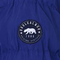 Куртка SoulCal 2 Zip Bubble Jacket Mens, фото 3