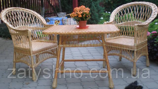 Купить плетеную мебель