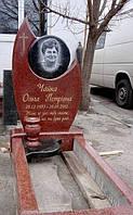 Памятник из лезниковского гранита №210
