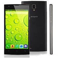 Тонкий смартфон ZOPO ZP780. Качественный смартфон на гарантии. Экран 5 дюймов. Интернет магазин. Код: КТМТ40