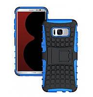 Противоударный двухслойный чехол Shield для Samsung Galaxy S8 Plus SM-G955F Blue
