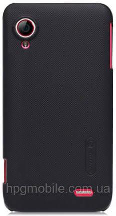 Чехол для Lenovo S720 - Nillkin Super Frosted Shield (пленка в комплекте)