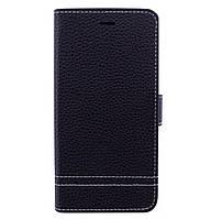 Кожаный чехол книжка YDT с функцией подставки для Huawei Y5 (2017) Black