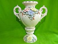 Керамическая напольная ваза «Галатея» (лепка)
