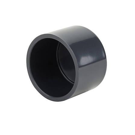 Заглушка ПВХ Aquaviva клеевая, диаметр 63 мм., фото 2
