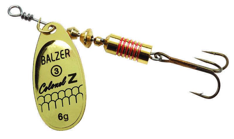 Блесна Balzer Colonel Z Spinner Gold 12гр.