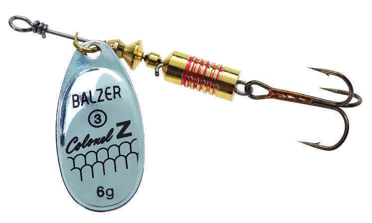 Блесна Balzer Colonel Z Spinner Silver 4гр.