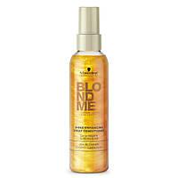 Спрей-блеск для светлых волос - Schwarzkopf BlondMe Shine Enhancing Spray Conditioner, 150мл