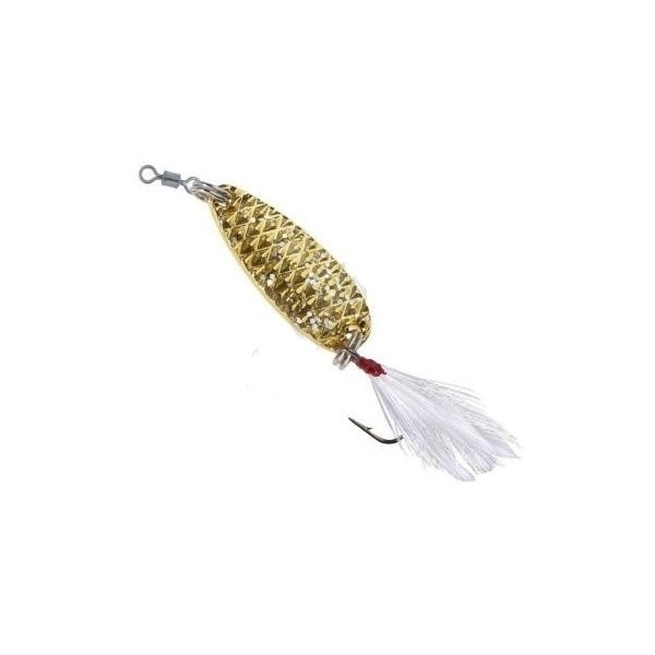 Блесна Balzer STAR DUST Trout Spoon 3.5гр.  GOLD