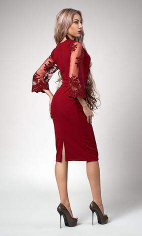 """Платье """"Кристина"""" размеры 54 абрикос, фото 2"""