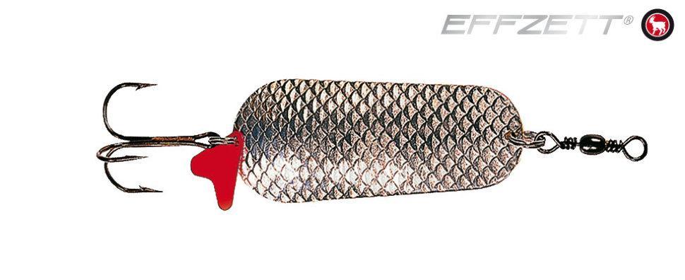 Блесна D•A•M EFFZETT® BLINKER SCHUPPE 45гр 80мм (цвет-серебро/серебро)