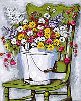 Живопись по номерам 40x50 Полевые цветы, фото 1