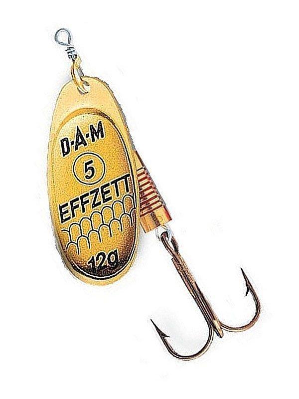 Блесна D•A•M EFFZETT® SPINNER STANDARD №4 10гр (цвет- gold)