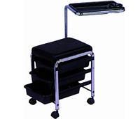 Тележка ZD-100 для экспресс-маникюра Тележка для педикюра, цвет черный