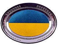 Магнитик UK128 с национальной символикой (тарелка)