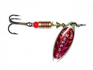 Блесна Mepps Aglia Long Redbow silver 3  11.5гр (30 225 003)
