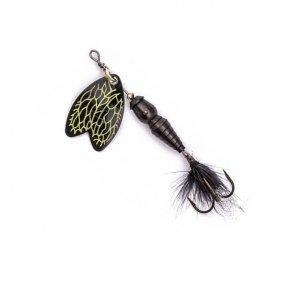 Блесна Mepps Bug Stone Fly black/gray 1  4гр (30 522 001)