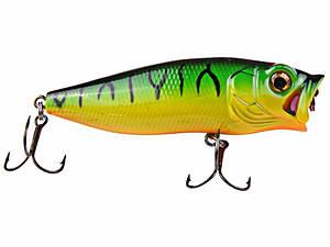 Воблер DAM Effzett Baby Popper 45мм 3.5гр Fire Shark (5919045) FL