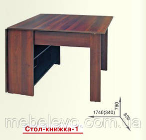 Стол книжка 1  760х340х820мм   Пехотин, фото 2
