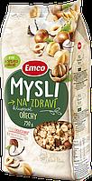 Мюсли с лесным орехом (фундуком) Emco Чехия 750г