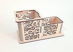 Карандашница деревянная