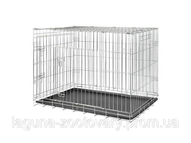 Клетка для собаки переносная  №1/64×54×48см