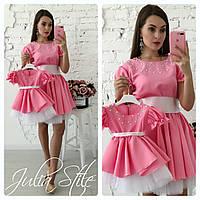 Комплект платья мама+дочка (под заказ 3-5дней), фото 1